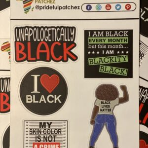 Unapologetically Black Sticker Sheet