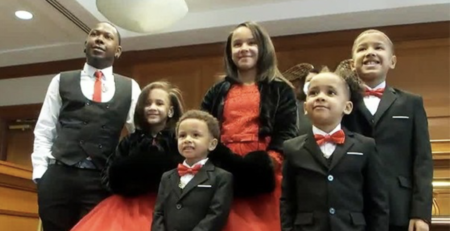New Development, Court Approves Adoption of 5 Siblings to Single Father