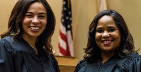 Two Sisters Make History, Become Judges At The Same Courthouse